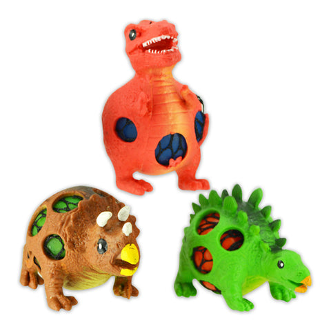 Dinosaur Mesh Squeeze Slime Balls