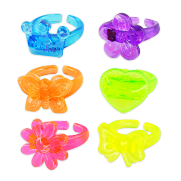Assorted Shape Rings