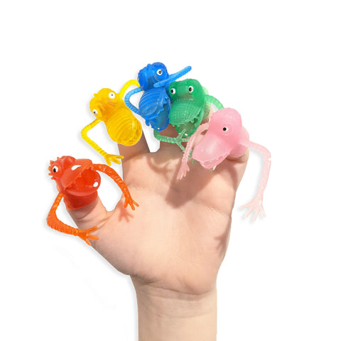 Colorful Monster Finger Puppets