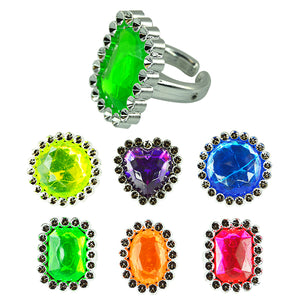 Fancy Jumbo Jewel Rings