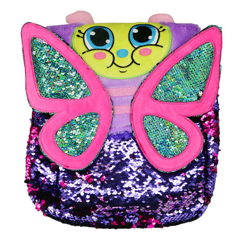 Butterfly Flip Sequin Backpack