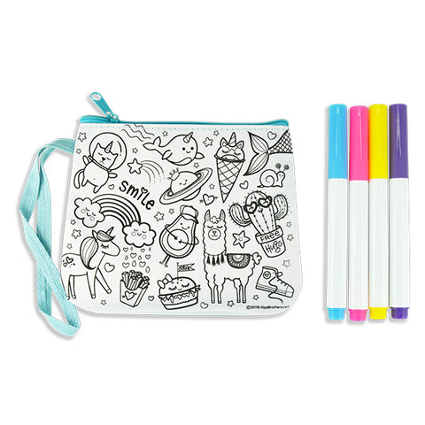 Doodle DIY Color Mini Purse Kit