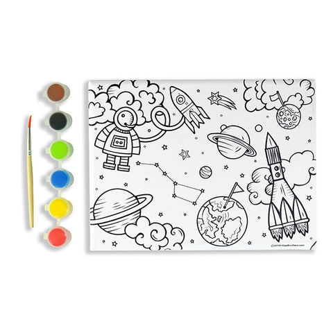 Space Galaxy DIY Paint & Canvas Kit