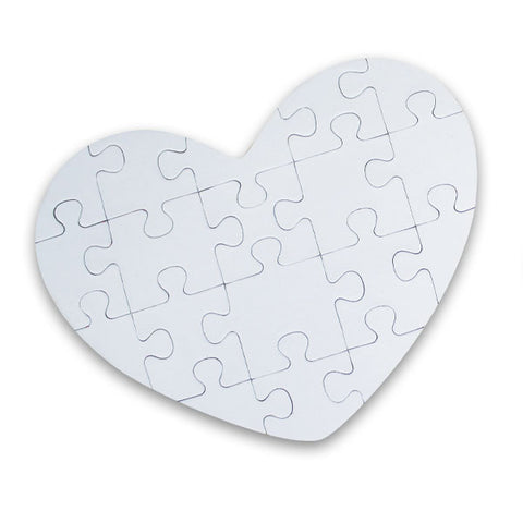 DIY Heart Puzzle Class Pack