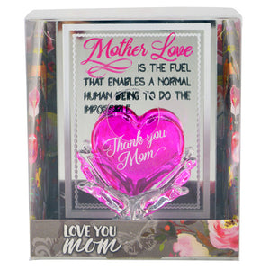 Mother Love Small Glass Figurine