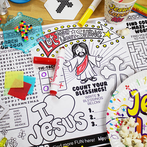 VBS Activity Placemat Downloadable Template