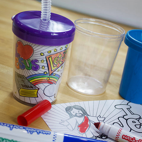 VBS Sipper Cup Insert Downloadable Template