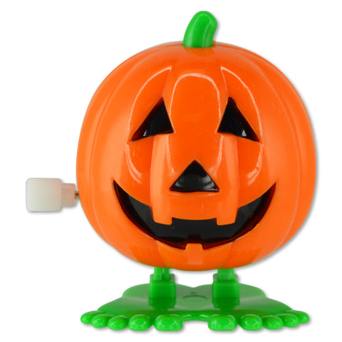 Wind-Up Jumping Jack-O-Lanterns