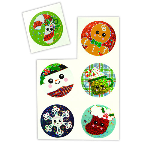 Holiday Sparkle Stickers