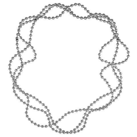 Silver Bead Necklaces