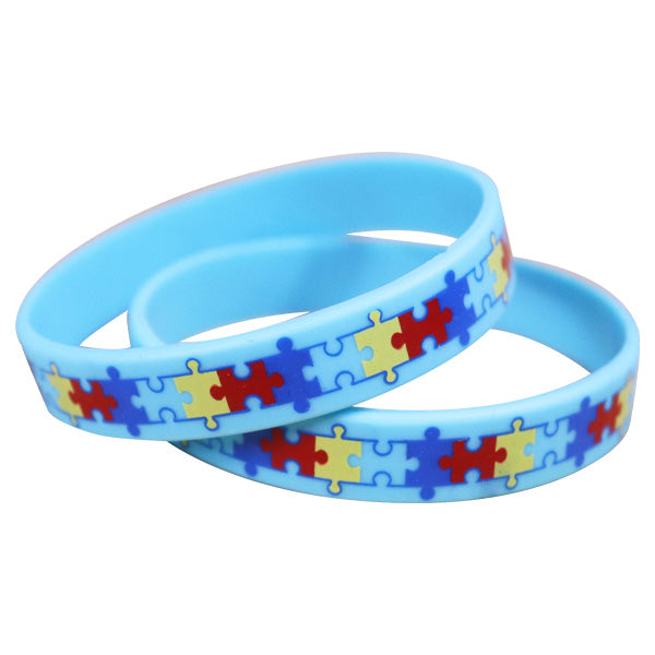 Autism Awareness Silicone Wristbands