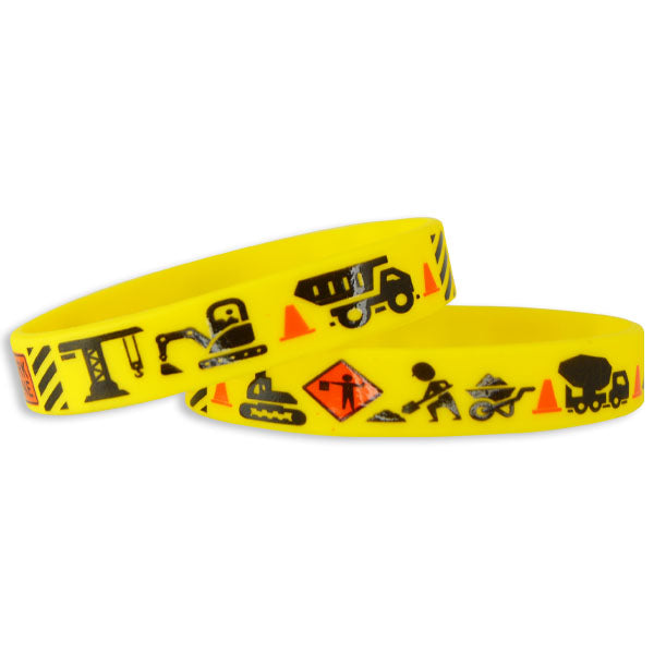 Construction Silicone Wristbands
