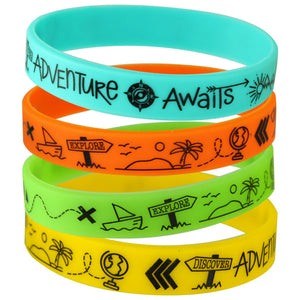 Exploration Silicone Wristbands