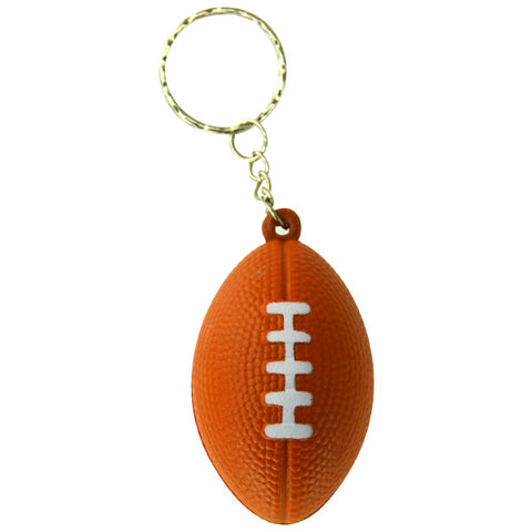 Soft Football Keychains
