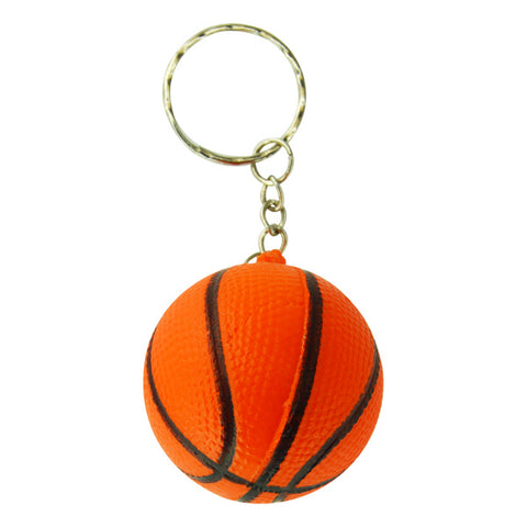 Soft Basketball Keychains