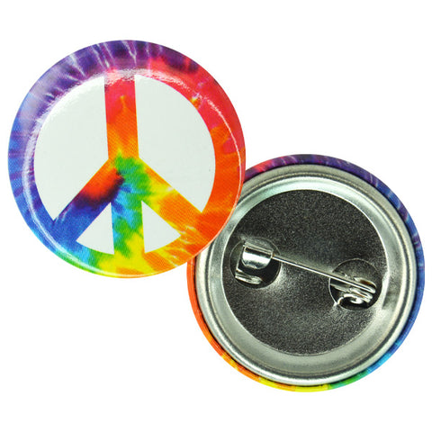 Peace Button Pins