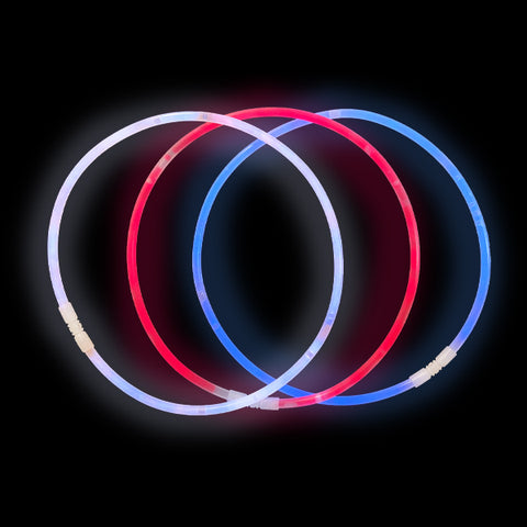 Patriotic Glow Necklaces