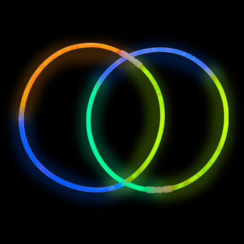 Rainbow Glow Necklaces