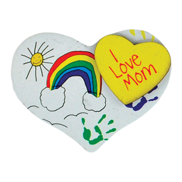 I Love Mom Magnets