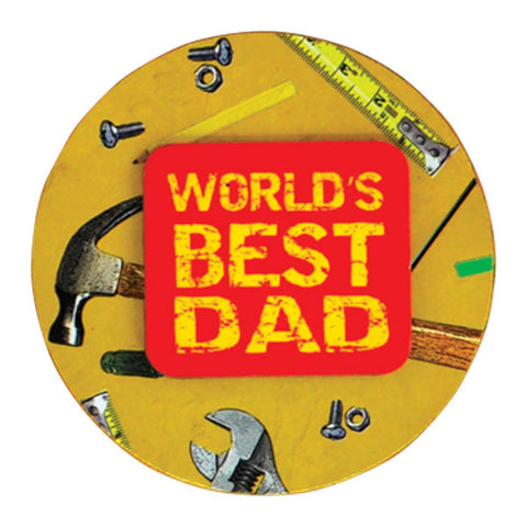 World's Best Dad Magnets