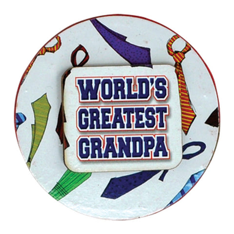 World's Greatest Grandpa Magnets