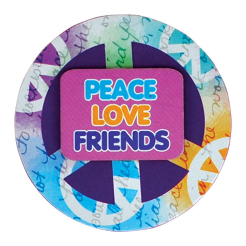 Peace Love Friends Magnets