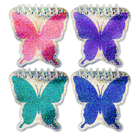 Sparkle Butterfly Notebooks