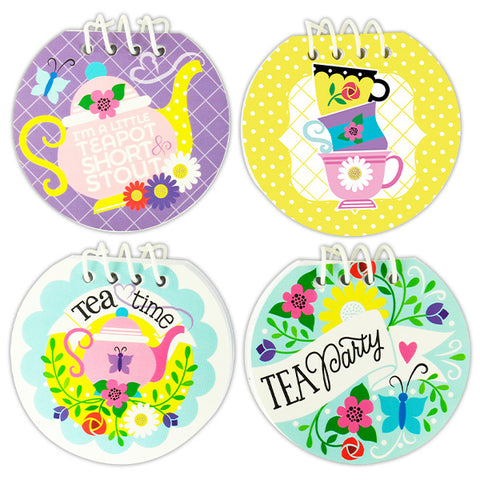 Tea Party Notebooks
