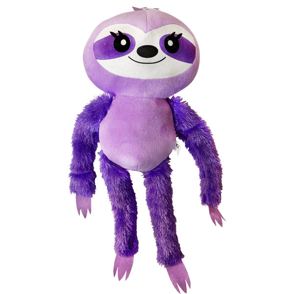 Purple Jumbo Stuffed Sloth
