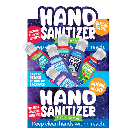 Fun Assorted 1oz. Hand Sanitizer in Silicone Holders