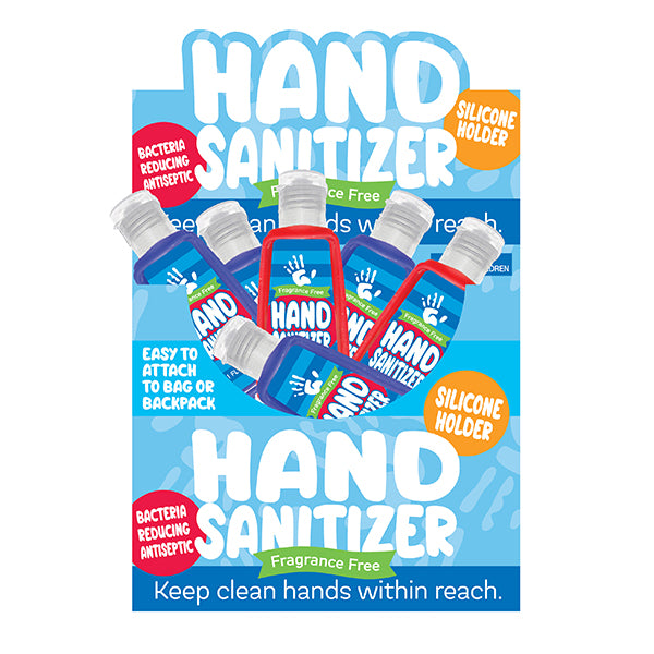 1oz. Hand Sanitizer in Silicone Holders