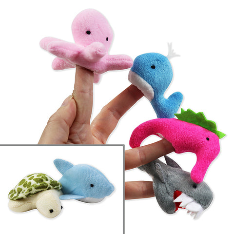 Under Water Finger Puppet Set