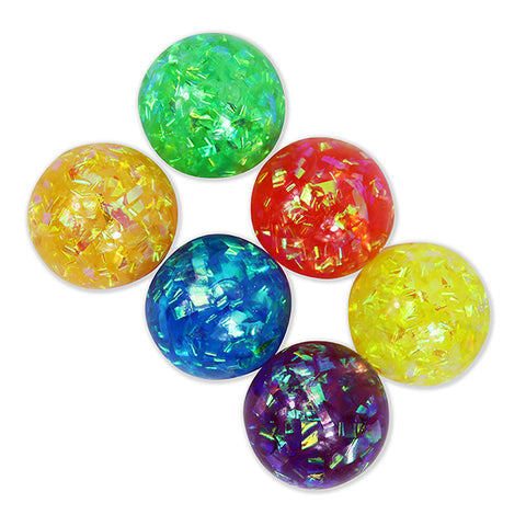 Squeeze Tinsel Water Ball