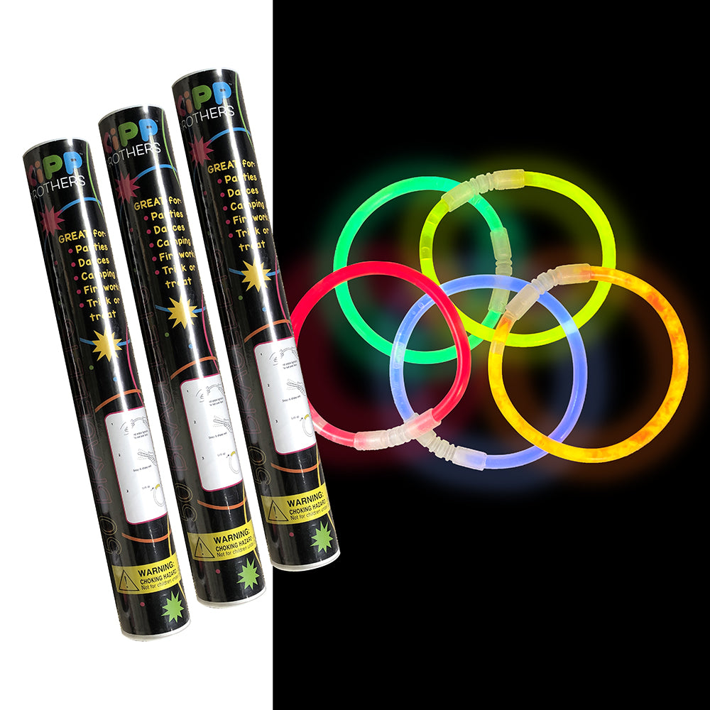 Assorted Glow Bracelets - 150 Piece Pack