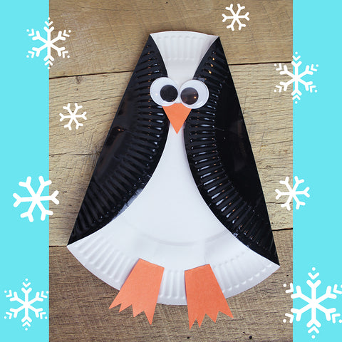 Penguin Plate Downloadable Template