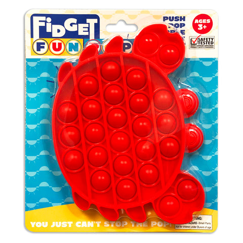 Fidget Fun Pop - Red Crab
