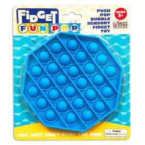Fidget Fun Pop - Blue Octagon