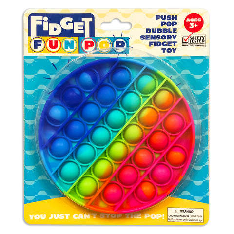 Fidget Fun Pop - Rainbow Circle