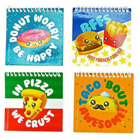 Cute Food Notebooks
