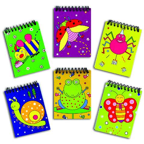 Friendly Insect Notebooks