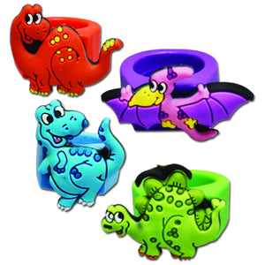 Dino Rubber Rings