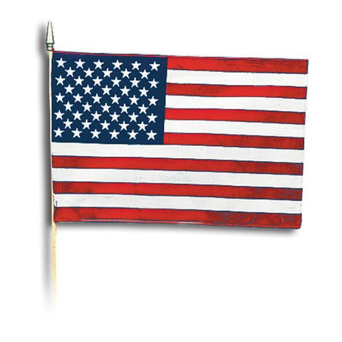 "12"" x 18"" Polyester American Flag"