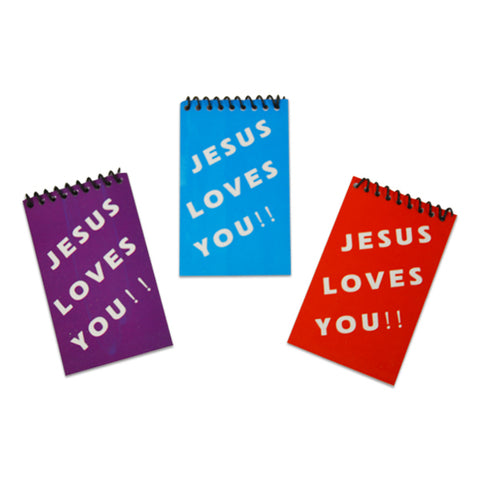 Jesus Loves You Notebooks