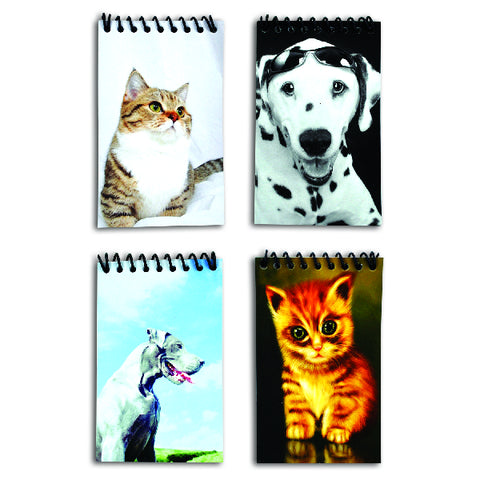 Puppy & Kitten Notebooks