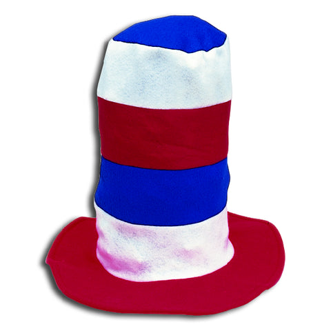 Red, White & Blue Stove Pipe Hat
