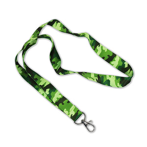 Green Camo Lanyards