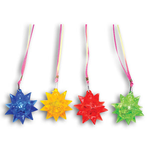 Flashing Star Necklaces