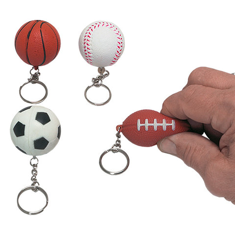 Soft Sport Ball Key Chains