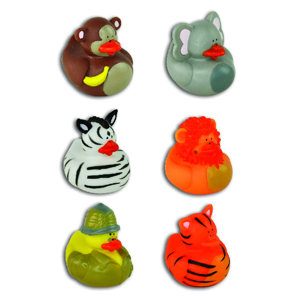 Safari Rubber Ducks