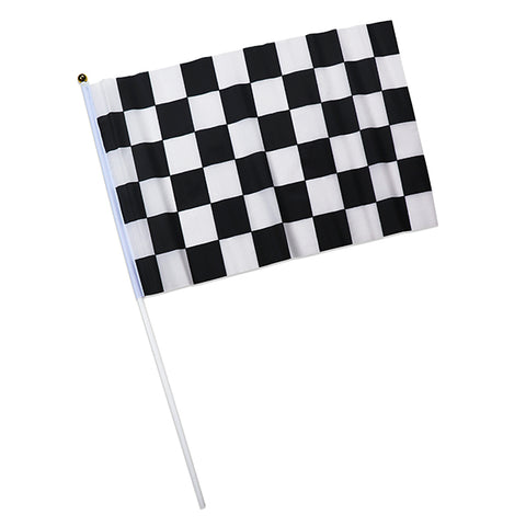 "12"" X 18"" Checkered Flags"